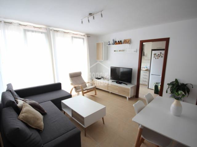 Modern first floor apartment in the centre of Mahón, Menorca.