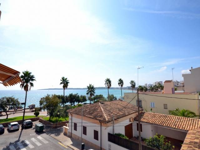 2nd floor apartment with sea views in Cala Millor, Mallorca