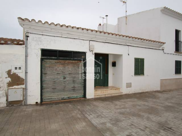 Terrace house located in quiet street in Sant Lluis, Menorca