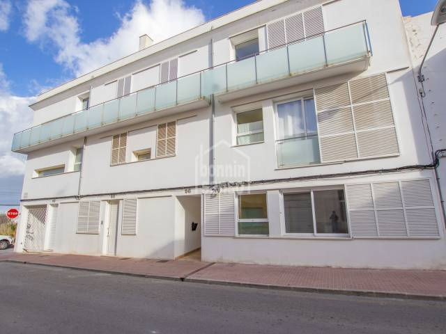 Lovely ground floor newly built near the sea in Es Castell