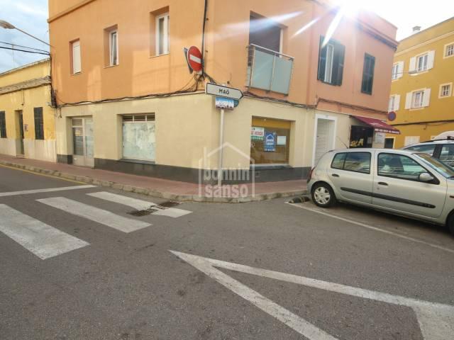 Local comercial centrico en Ciutadella, Menorca