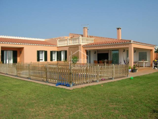 Pretty villa with swimming pool in Son Ganxo/Son Remei,MENORCA