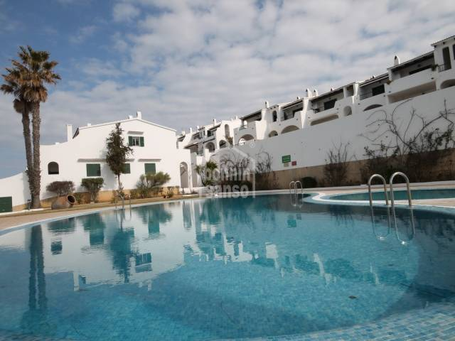 Well kept apartment in Son Parc , Menorca.