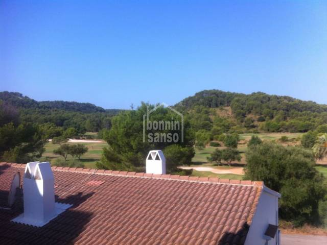 Apartment with beautiful views over the golf course