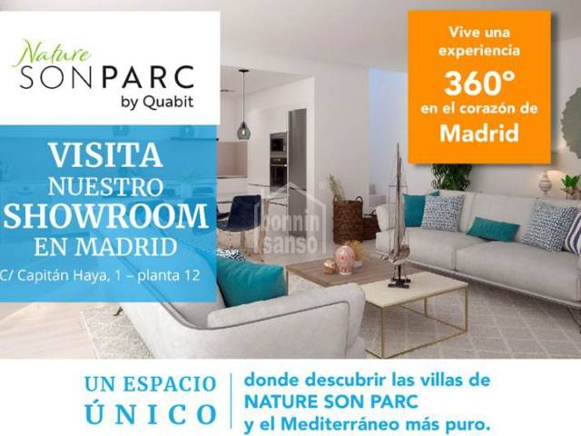 Visit the new Showroom of Nature Son Parc By Quabit, Menorca.