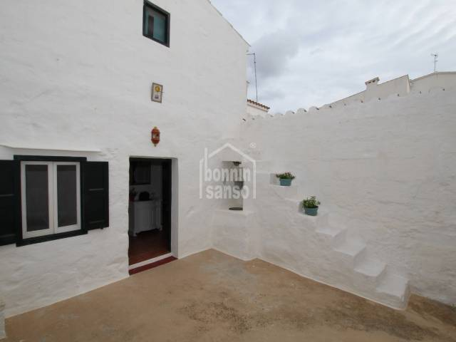 Typical traditional town house in Sant Lluis, Menorca
