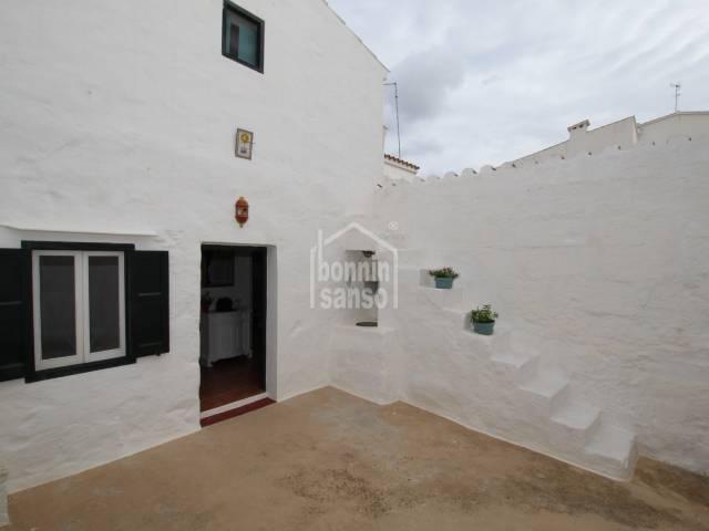 Autentica casa tradicional en Sant Lluis, Menorca
