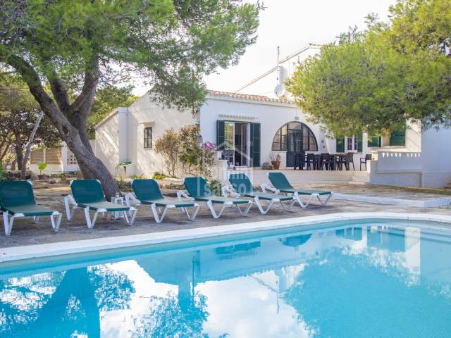 Interesting countryside property with tourist license in Es Castell, Menorca