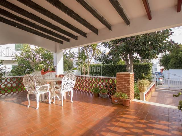 Villa located in the quiet area of Son Vilar, Menorca