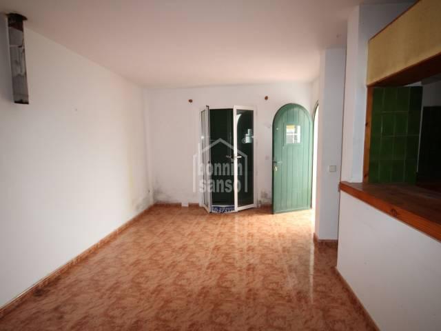 Apartamento en Calan Blanes, Ciutadella, Menorca.