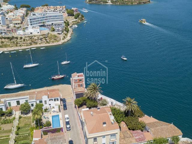 Front line house with own mooring, Es Castell, Menorca