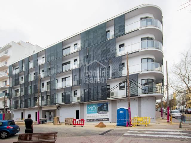 New build in a residential area of Mahón, Menorca.