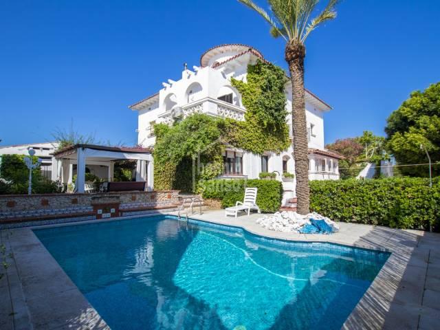 Impressive house in Mahon, Menorca
