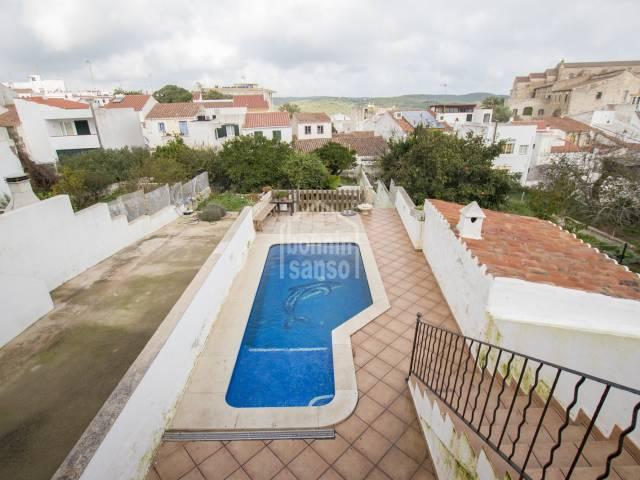 Casa entera en zona centro de Mahón, Menorca