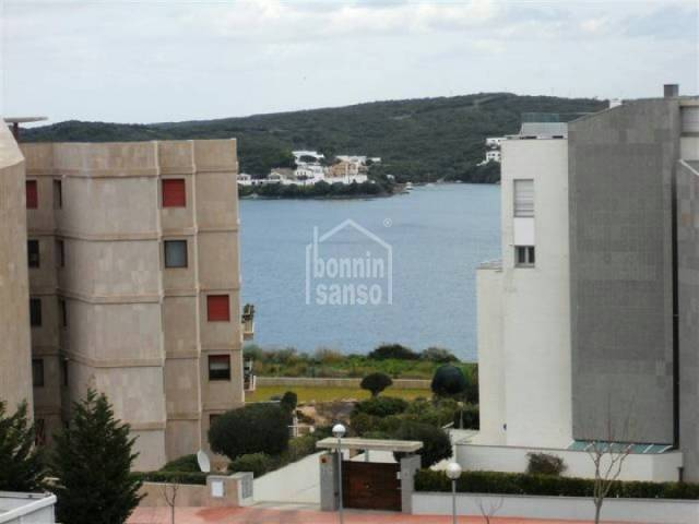 4th floor apartment with elevator in Mahon. Some sea view .