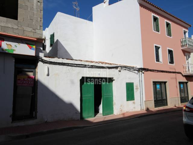 Garage with air rights in Es Castell