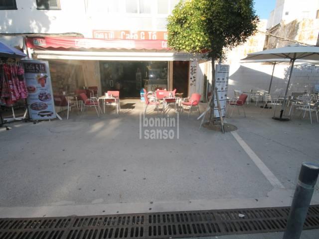 LEASEHOLD.  Cafeteria in Mahon. Menorca