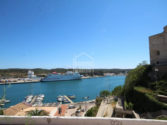 A very special property in a wonderful location, overlooking the port of Mahon.