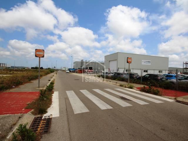 Plot of land on the industrial estate in Mahon, Menorca