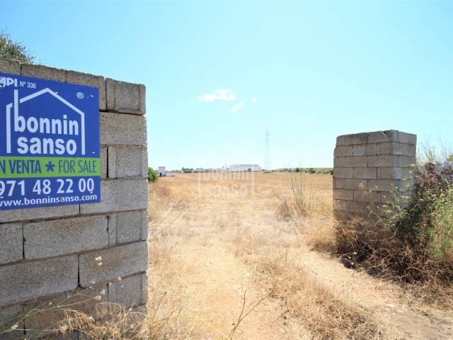 Parcela rústica-agrícola en zona consolidada, Ciutadella, Menorca