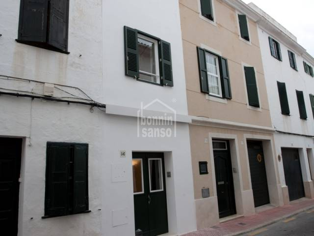 Chic town house, central Mahon, Menorca