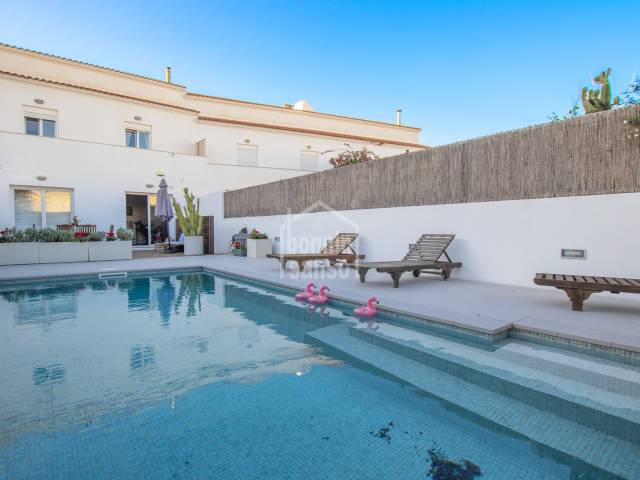 Impressive house with swimming pool in Malbuger, Mahon, Menorca