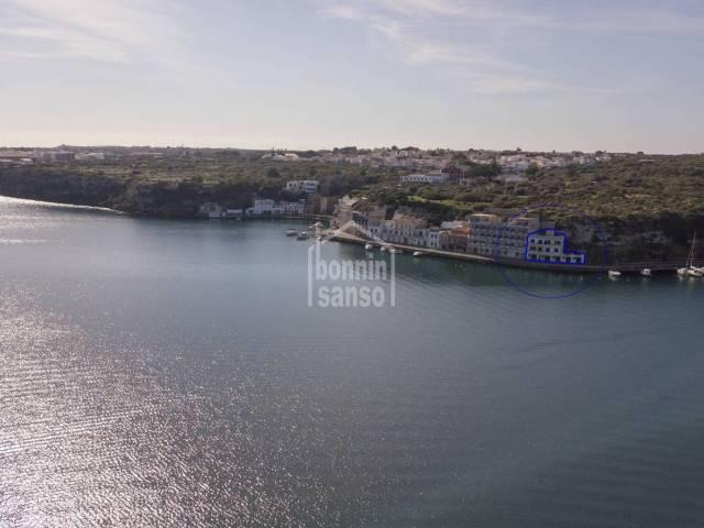 Front line building, Mahon harbour, Menorca