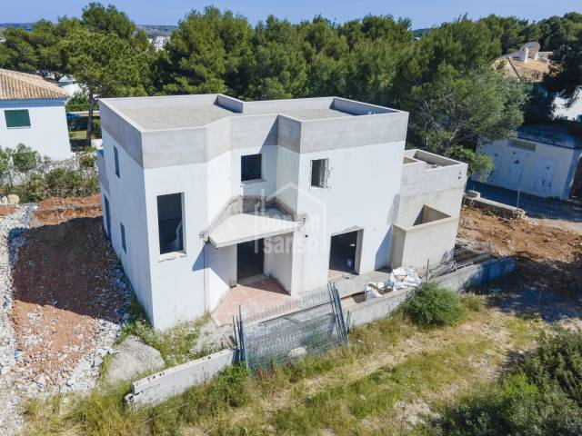 Promotion Sa Tamarells konstruirt in Coves Noves, Menorca.