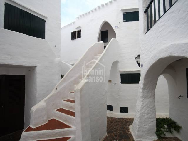 Group of 3 apartments in the fishing village of Binibeca, Menorca