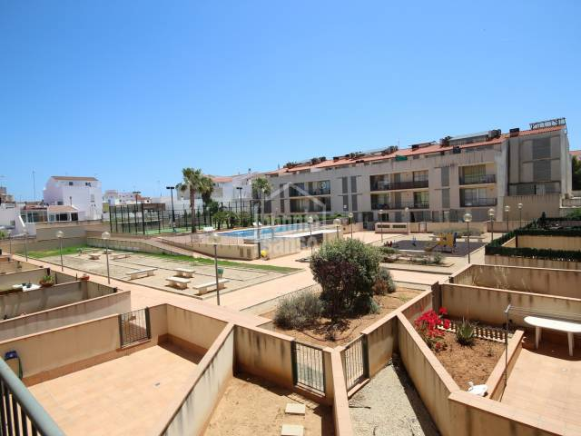 First floor apartment with communal swimming pool area in Ciutadella