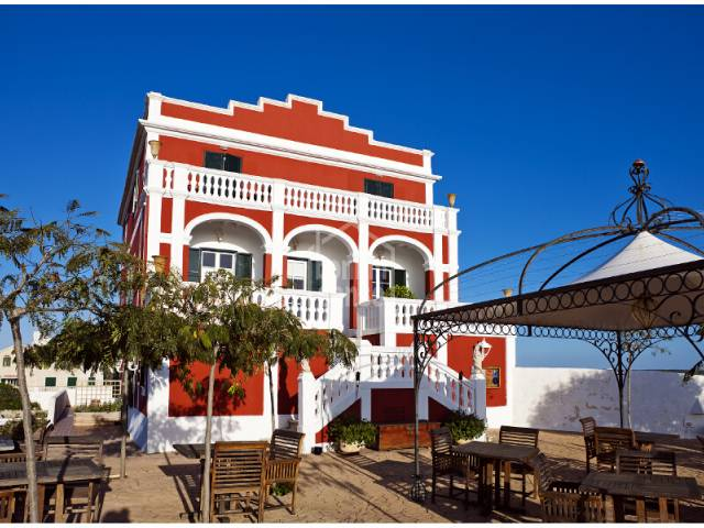 Hotel mit viel Charme im Landhaus Stil, Es Castell, Menorca.