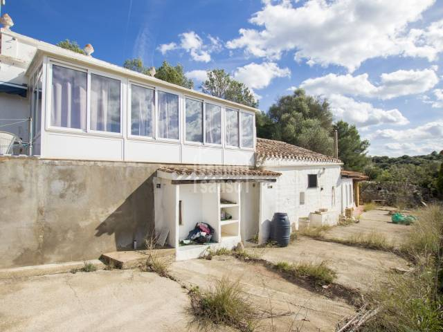 Property on the outskirts of Alaior, Menorca