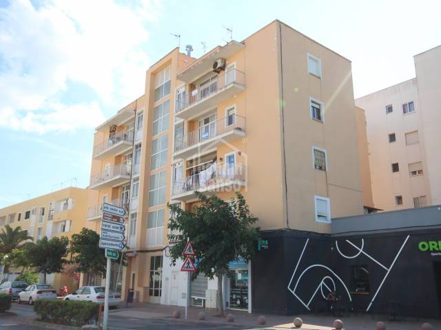 Fourth floor flat with lift, at the entrance of Ciutadella, Menorca