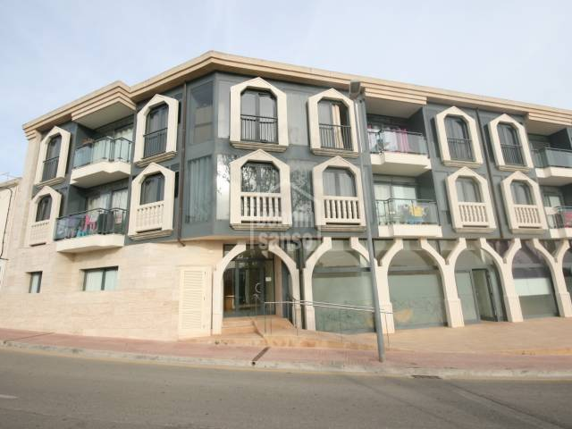 New apartment in Alaior with quality finishes