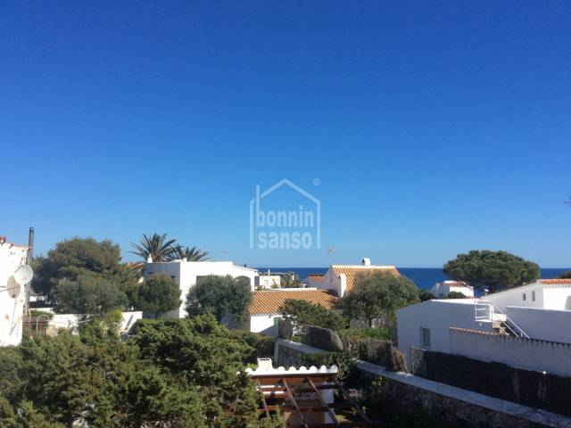 Very nice first floor apartment with view in Cap D'Artrutx