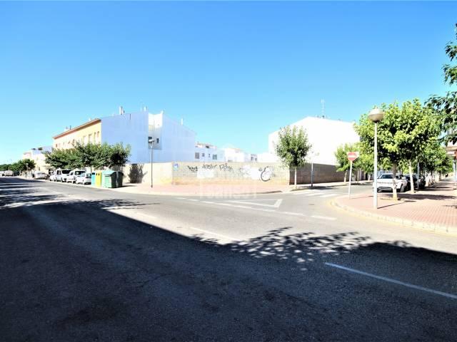Plot of land of more than 1.000m² in very appreciated area of Ciutadella, Menorca