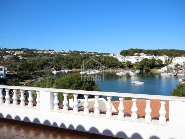 Second line with panoramic views over Cala Moli,  Port Addaya. Menorca.
