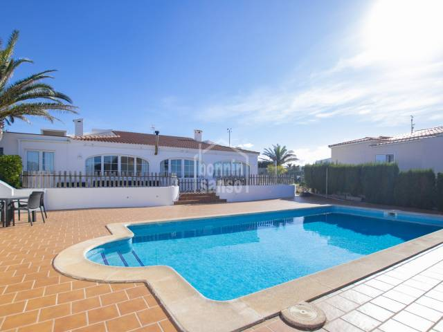 Magnificent villa with sea views in Son Ganxo, Menorca
