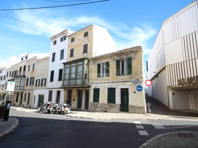 Refurbishment opportunity in old quarter of Mahon. MENORCA