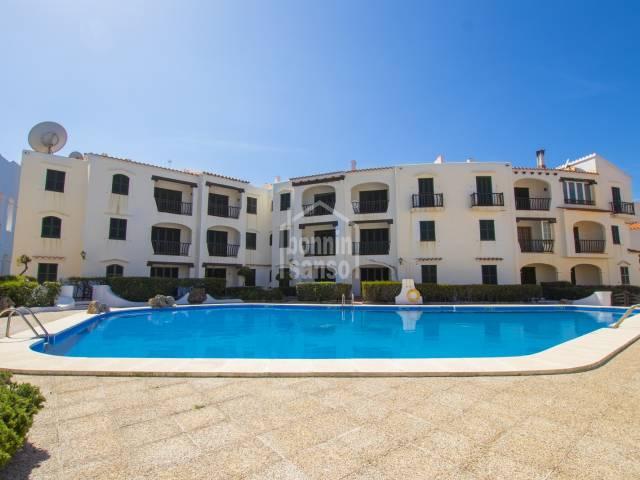 Bonito apartamento en planta baja, Playas de Fornells, Menorca