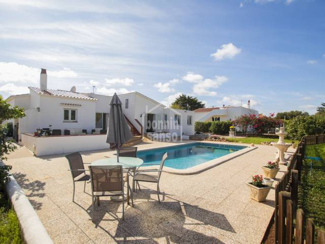 Lovely villa in Binixica, Menorca