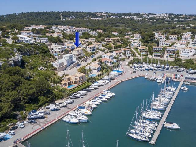 Panoramic views over Addaya marina, Menorca