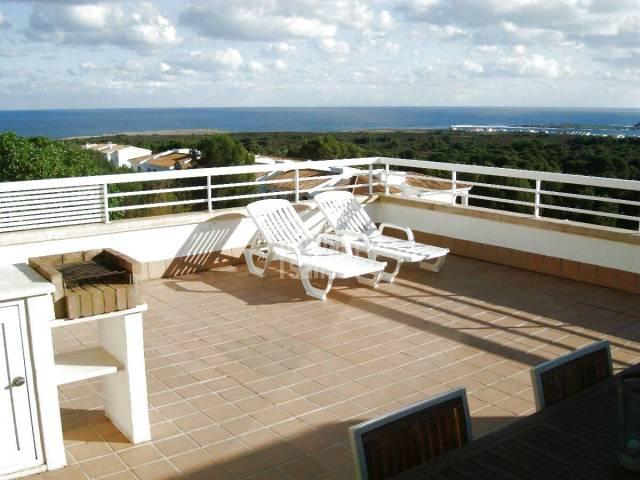 Vistas panoramicas costa norte Menorca