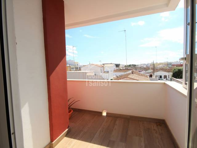 Completely reformed second floor flat in Ciutadella, Menorca.