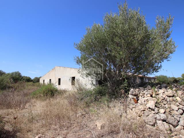 Finca agrícola ganadera. Alayor. Menorca
