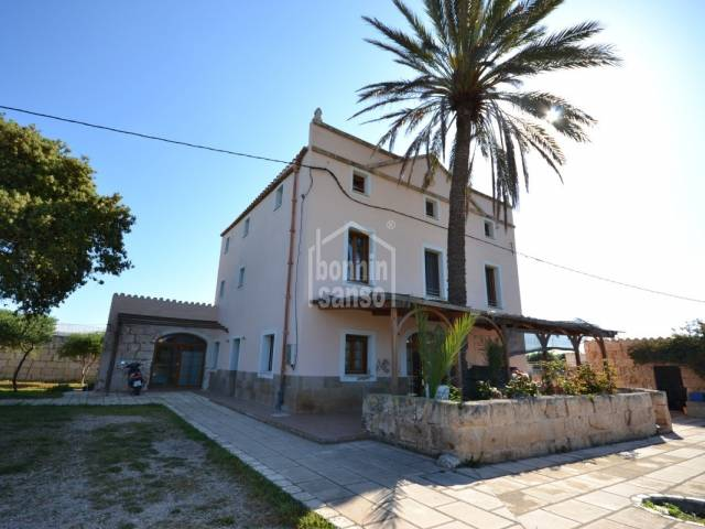 Magnificent house in the countryside two minutes from Ciutadella, Menorca