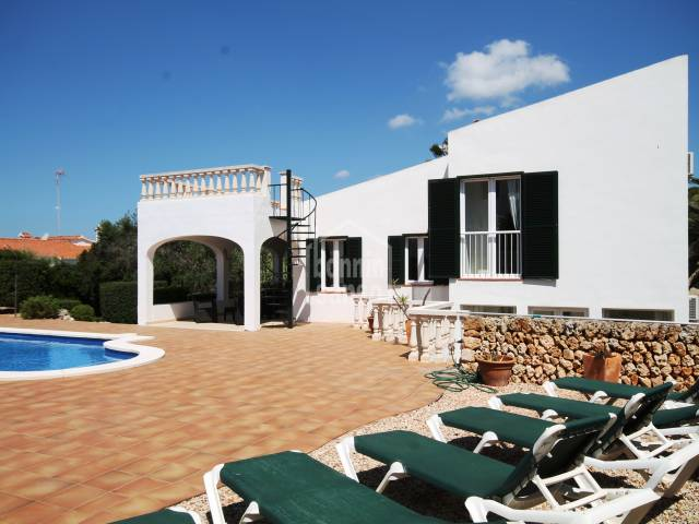Beautiful house close to the charming beach of Canutells