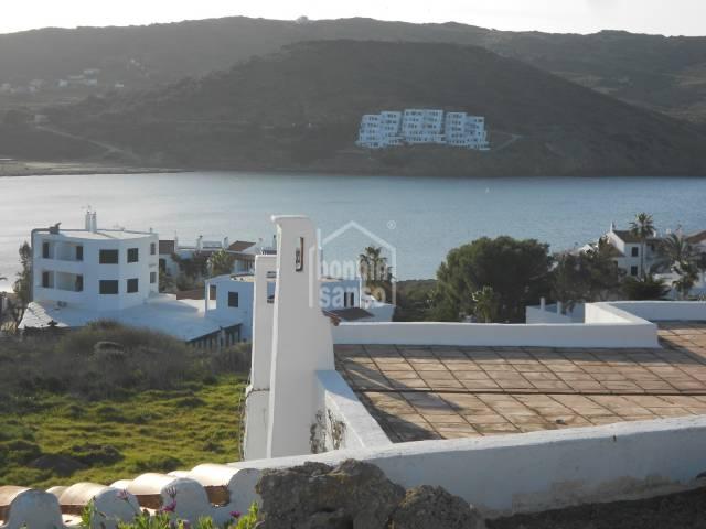 Espectaculares vistas al mar en Playas de Fornells, Menorca