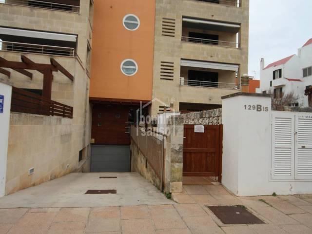 Recently built ground floor apartment with pool in Ciutadella, Menorca