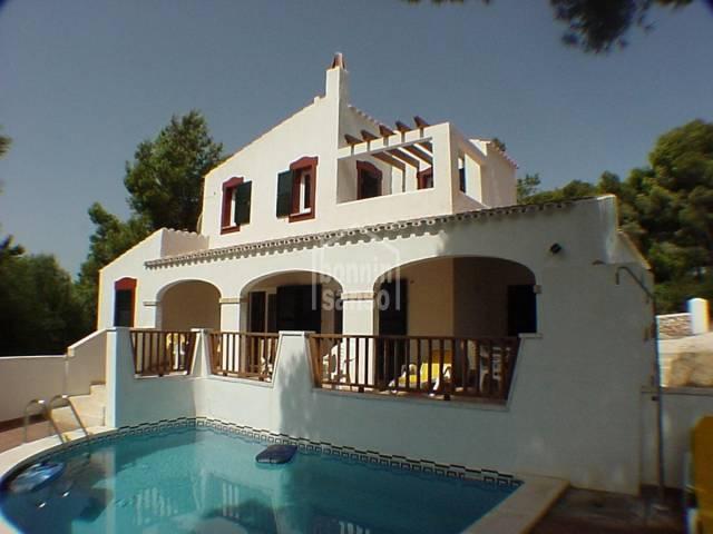 Modern villa in Son Parc